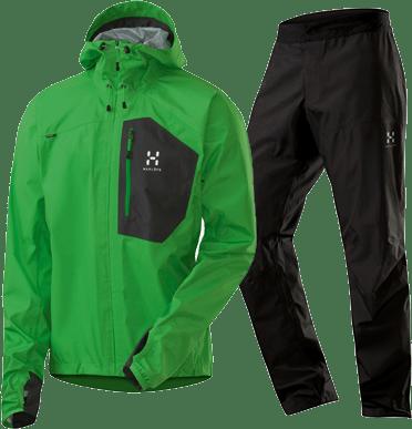 Endo Jacket Oxide Green