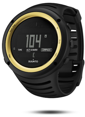 Suunto Core Sahara Yellow profile