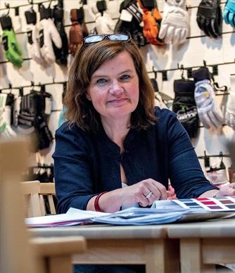 Designchef Marianne Knutsson-Hall